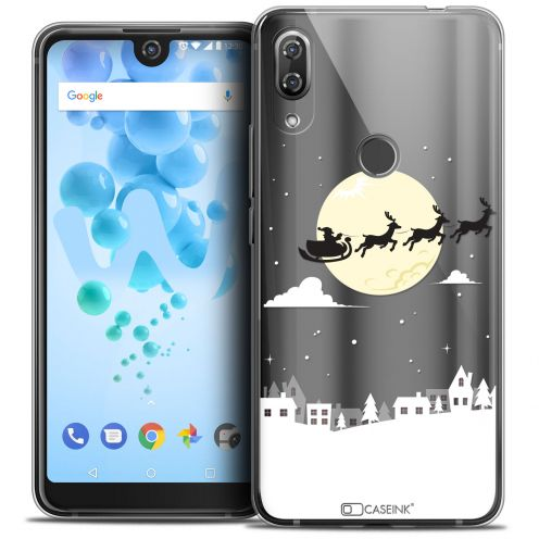 "Coque Crystal Gel Wiko View 2 PRO (6.0"") Extra Fine Noël 2017 - Flying Stanta"