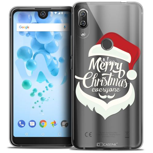 "Coque Crystal Gel Wiko View 2 PRO (6.0"") Extra Fine Noël 2017 - Merry Everyone"