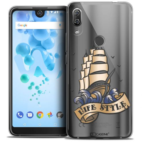 "Coque Crystal Gel Wiko View 2 PRO (6.0"") Extra Fine Tatoo Lover - Life Style"