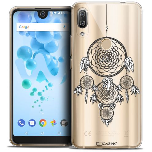 "Coque Crystal Gel Wiko View 2 PRO (6.0"") Extra Fine Dreamy - Attrape Rêves NB"