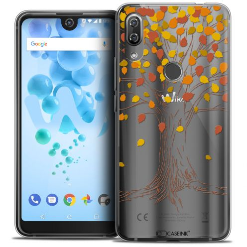 """Coque Crystal Gel Wiko View 2 PRO (6.0"""") Extra Fine Autumn 16 - Tree"""