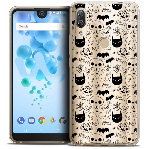 "Coque Crystal Gel Wiko View 2 PRO (6.0"") Extra Fine Halloween - Spooky"