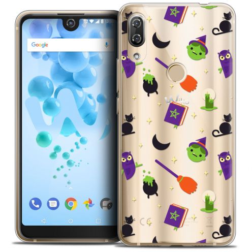 "Coque Crystal Gel Wiko View 2 PRO (6.0"") Extra Fine Halloween - Witch Potter"