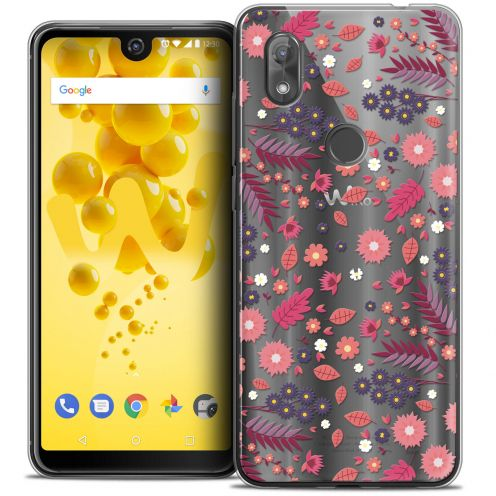 "Coque Crystal Gel Wiko View 2 (6.0"") Extra Fine Spring - Printemps"