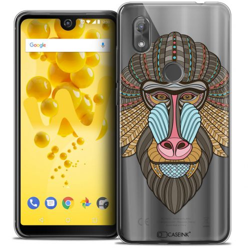 "Coque Crystal Gel Wiko View 2 (6.0"") Extra Fine Summer - Babouin"