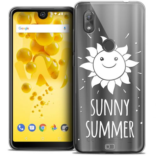 "Coque Crystal Gel Wiko View 2 (6.0"") Extra Fine Summer - Sunny Summer"