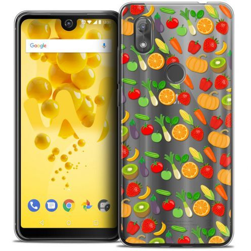"Coque Crystal Gel Wiko View 2 (6.0"") Extra Fine Foodie - Healthy"