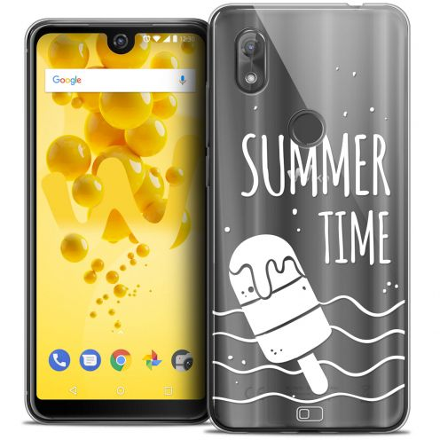 """Coque Crystal Gel Wiko View 2 (6.0"""") Extra Fine Summer - Summer Time"""