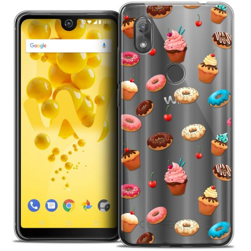 "Coque Crystal Gel Wiko View 2 (6.0"") Extra Fine Foodie - Donuts"