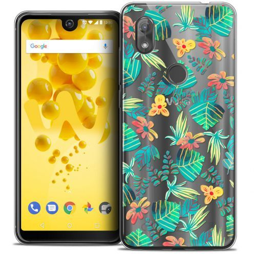 """Coque Crystal Gel Wiko View 2 (6.0"""") Extra Fine Spring - Tropical"""