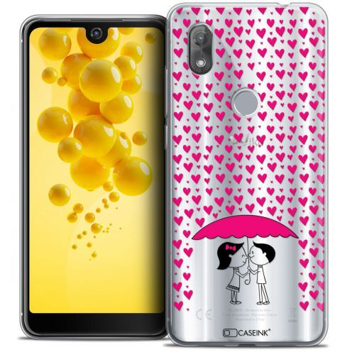 """Coque Crystal Gel Wiko View 2 (6.0"""") Extra Fine Love - Pluie d'Amour"""