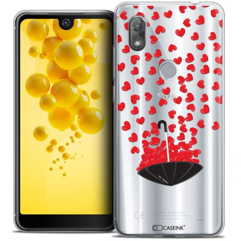 """Coque Crystal Gel Wiko View 2 (6.0"""") Extra Fine Love - Parapluie d'Amour"""