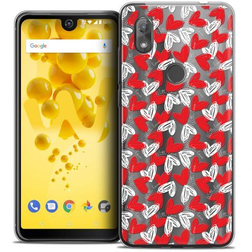 """Coque Crystal Gel Wiko View 2 (6.0"""") Extra Fine Love - With Love"""