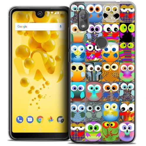 "Coque Crystal Gel Wiko View 2 (6.0"") Extra Fine Claude - Hibous"
