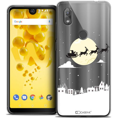 """Coque Crystal Gel Wiko View 2 (6.0"""") Extra Fine Noël 2017 - Flying Stanta"""