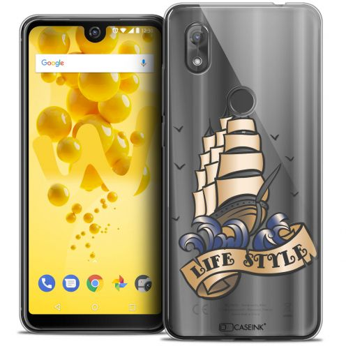 """Coque Crystal Gel Wiko View 2 (6.0"""") Extra Fine Tatoo Lover - Life Style"""