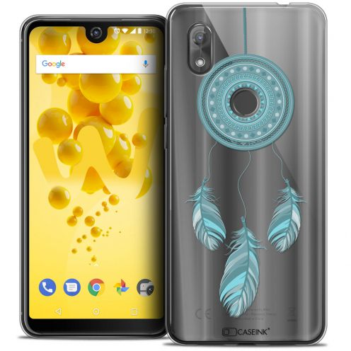 "Coque Crystal Gel Wiko View 2 (6.0"") Extra Fine Dreamy - Attrape Rêves Blue"