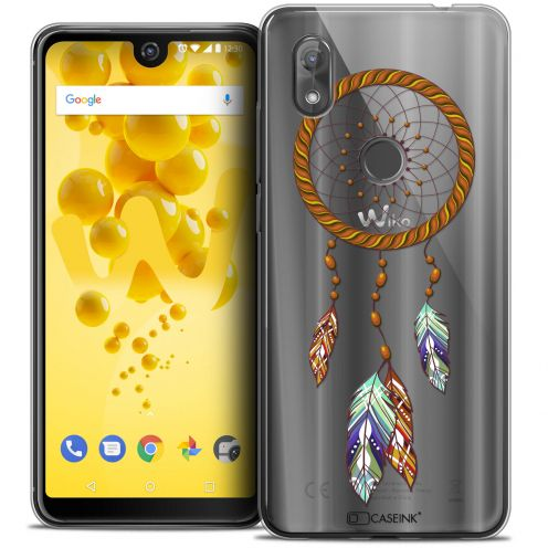"Coque Crystal Gel Wiko View 2 (6.0"") Extra Fine Dreamy - Attrape Rêves Shine"