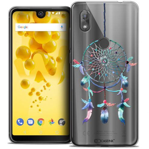 "Coque Crystal Gel Wiko View 2 (6.0"") Extra Fine Dreamy - Attrape Rêves Rainbow"