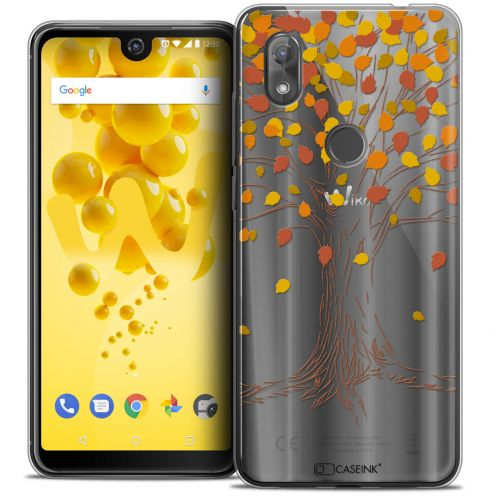 "Coque Crystal Gel Wiko View 2 (6.0"") Extra Fine Autumn 16 - Tree"