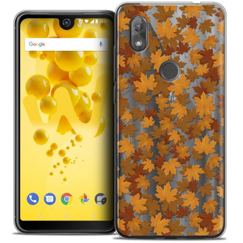 "Coque Crystal Gel Wiko View 2 (6.0"") Extra Fine Autumn 16 - Feuilles"