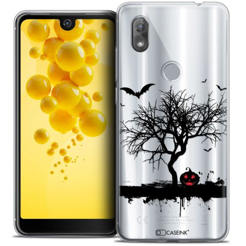 "Coque Crystal Gel Wiko View 2 (6.0"") Extra Fine Halloween - Devil's Tree"