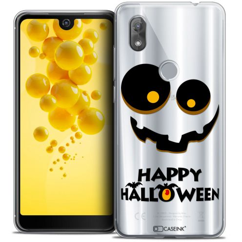 "Coque Crystal Gel Wiko View 2 (6.0"") Extra Fine Halloween - Happy"