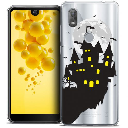 "Coque Crystal Gel Wiko View 2 (6.0"") Extra Fine Halloween - Castle Dream"