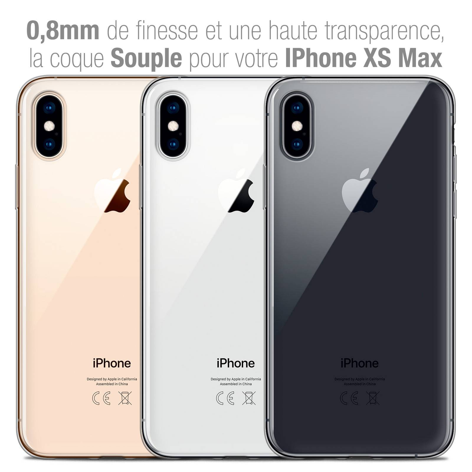 coque zero 5 iphone xs max