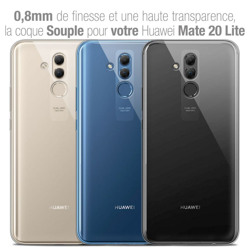"""Coque Huawei Mate 20 Lite (6.3"""") Extra Fine Souple Crystal Clear"""