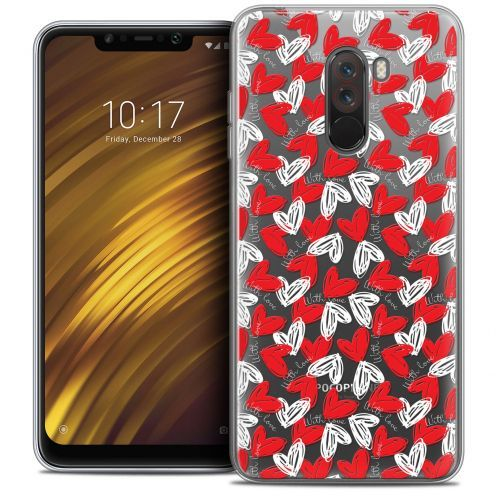 "Coque Crystal Gel Xiaomi Pocophone F1 (6.18"") Extra Fine Love - With Love"
