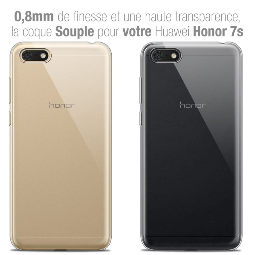 "Coque Honor 7S (5.45"") Extra Fine Souple Crystal Clear"