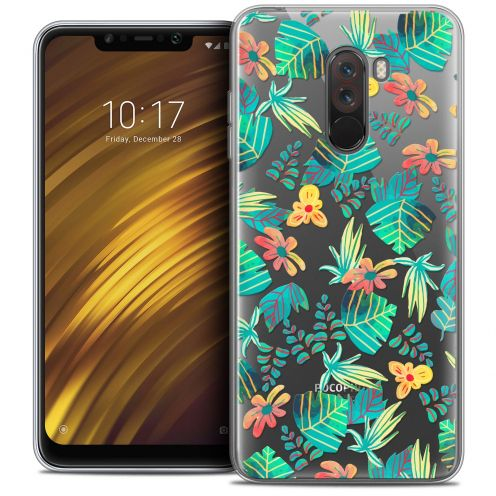 "Coque Crystal Gel Xiaomi Pocophone F1 (6.18"") Extra Fine Spring - Tropical"