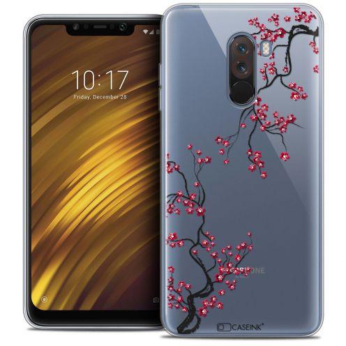 "Coque Crystal Gel Xiaomi Pocophone F1 (6.18"") Extra Fine Summer - Sakura"
