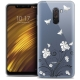 """Coque Crystal Gel Xiaomi Pocophone F1 (6.18"""") Extra Fine Summer - Papillons"""