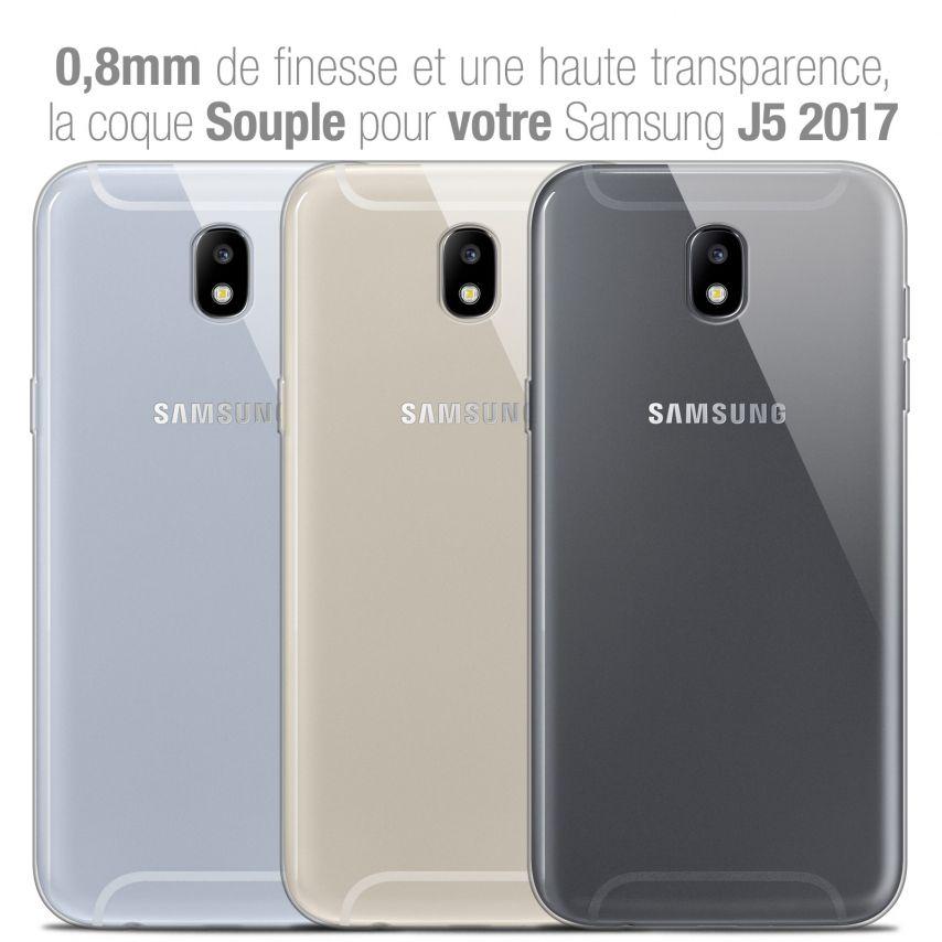 "Coque Samsung Galaxy J5 2017 J530 (5.2"") Extra Fine Souple Crystal Clear"