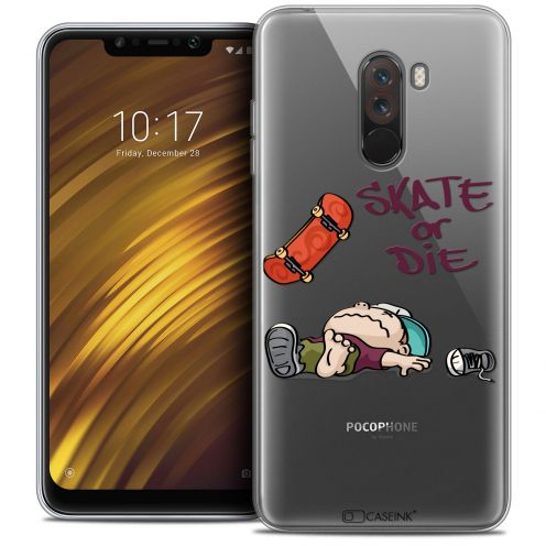 "Coque Crystal Gel Xiaomi Pocophone F1 (6.18"") Extra Fine BD 2K16 - Skate Or Die"
