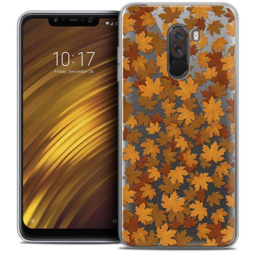 "Coque Crystal Gel Xiaomi Pocophone F1 (6.18"") Extra Fine Autumn 16 - Feuilles"