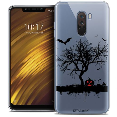 "Coque Crystal Gel Xiaomi Pocophone F1 (6.18"") Extra Fine Halloween - Devil's Tree"