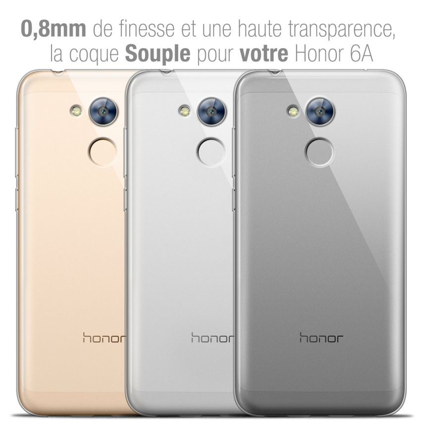 """Coque Huawei Honor 6A (5"""") Extra Fine Souple Crystal Clear"""