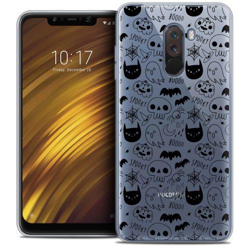 "Coque Crystal Gel Xiaomi Pocophone F1 (6.18"") Extra Fine Halloween - Spooky"