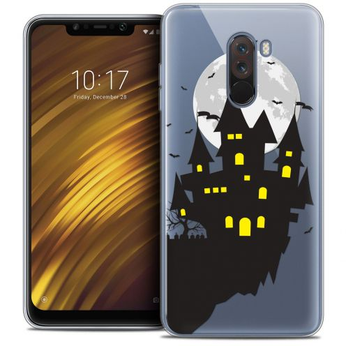 "Coque Crystal Gel Xiaomi Pocophone F1 (6.18"") Extra Fine Halloween - Castle Dream"