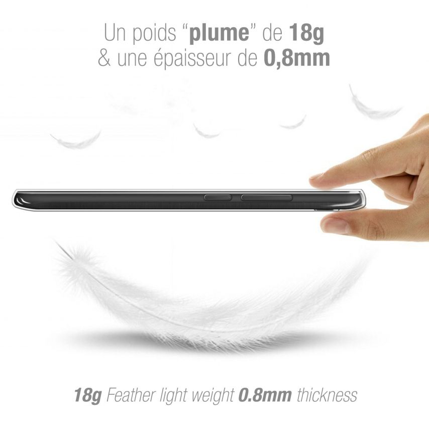 "Coque Wiko U Pulse (5.5"") Extra Fine Souple Crystal Clear"