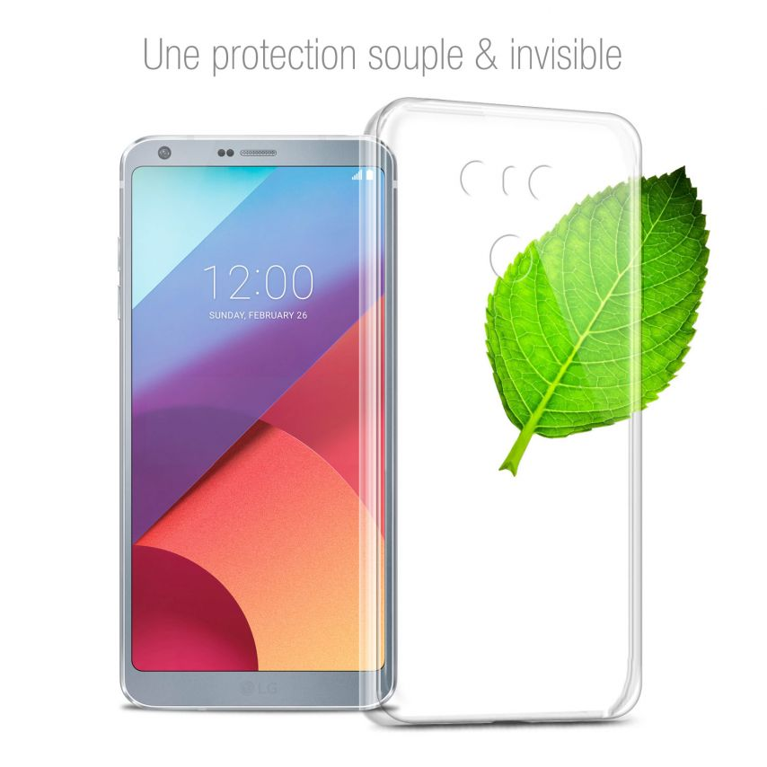 Coque LG G6 Extra Fine Souple Crystal Clear