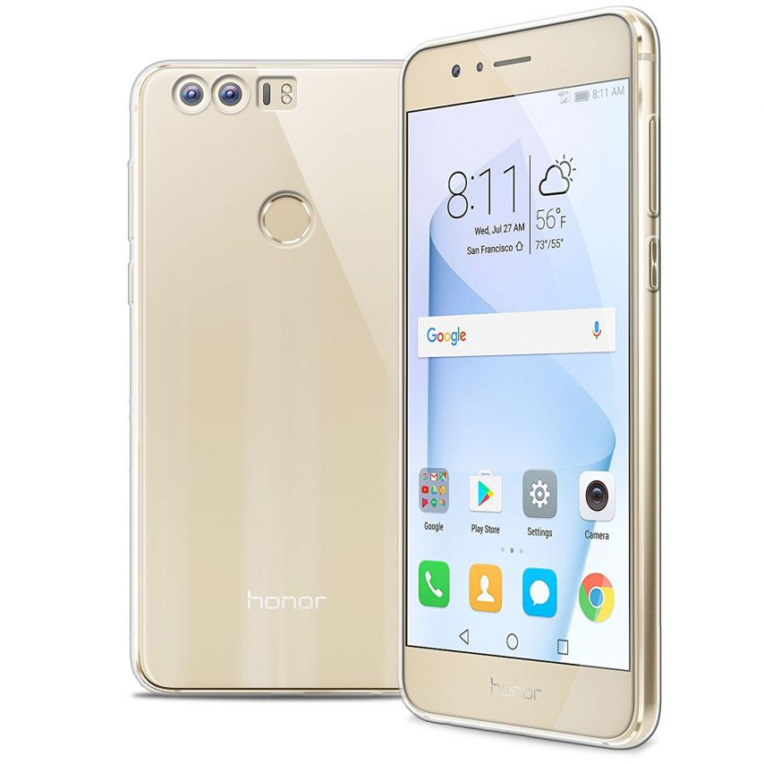"""Coque Huawei Honor 8 5.2"""" Extra Fine Souple Crystal Clear"""