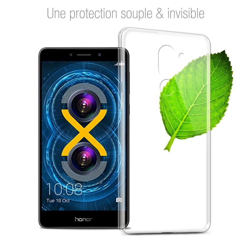 Coque Huawei Honor 6X Extra Fine Souple Gel Crystal Clear