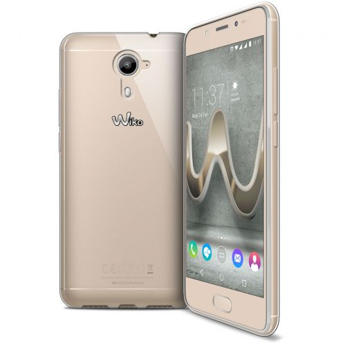 Coque Wiko U Feel Prime Extra Fine Souple Crystal Clear