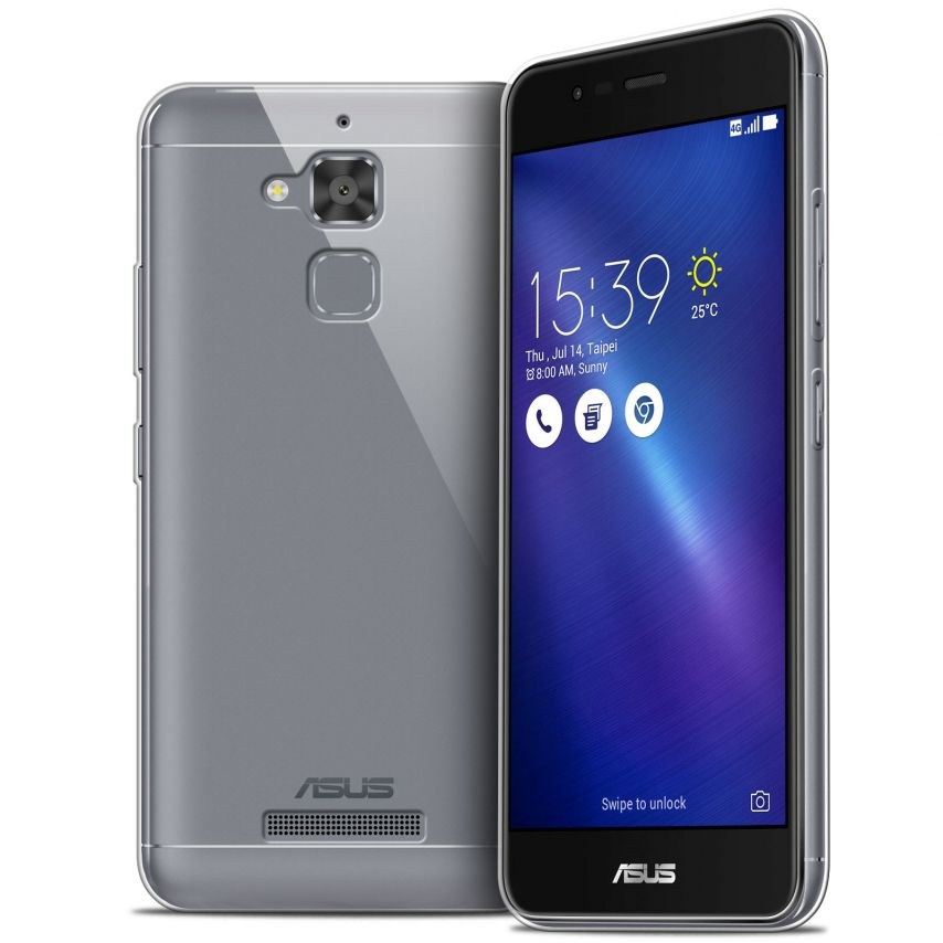 """Coque Asus Zenfone 3 Max ZC520TL 5.2"""" Extra Fine Souple Crystal Clear"""