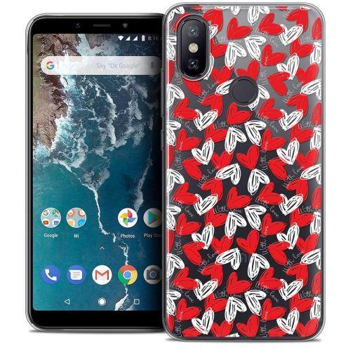 "Coque Crystal Gel Xiaomi Mi A2 (5.99"") Extra Fine Love - With Love"