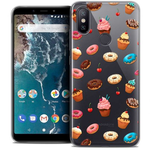 """Coque Crystal Gel Xiaomi Mi A2 (5.99"""") Extra Fine Foodie - Donuts"""